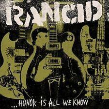 Rancid - Honor Is All We Know Vinyl Lp2 Hellcat
