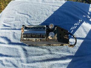 1955 1956 Pontiac Chieftain  radio