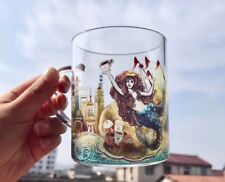 New Starbucks China 2017 Anniversary Ocean Siren Glass Mug