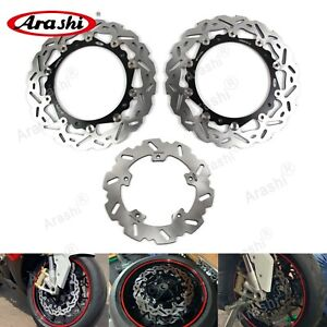 Fit BMW S1000R 2014 2015 S1000RR 2010-2015 Front Rear Brake Disk Rotor S 1000 RR