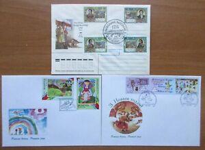 Belarus - 1995-99 FDCs