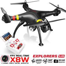 DRONE QUADRICOTTERO SYMA X8W 2.4G RADIOCOMANDATO WIFI CAMERA HD LIVE VIDEO FOTO