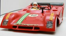 Vintage racing car PIKO FERRARI 312 PB 1:12 made in Germany DDR (GDR) boxed RARE