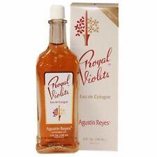 Royal Violets Agustin Reyes 5 oz Eau de Cologne Colonia Glass Bottle