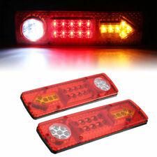 12V LED Trailer Rear Tail Brake Stop Turn Light Indicator Reverse Lamp Stylish