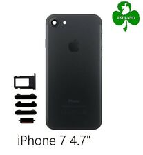 "For iPhone 7 4.7"" Back Battery Cover Plate Case Housing Replacement Black New"