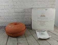 New listing Terra Cotta Glazed Inside Apple Baker Cookin' American Way� Pot Casserole 10�