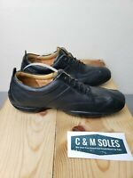 TIMBERLAND Smart Comfort System PreciseFit Mens Leather Shoes Black Size 8M