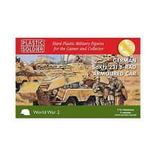 Plastic Soldier Ww2 German SdKfz 231 8 Rad Armoured Car 1/72nd Scale 20mm