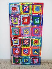 Abstrakte Bilder Bild XXL Acryl Gemälde Art Picture Malerei von Steven ;-) 0217