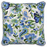 Paisley floral In Blue - Anchor Living Needlepoint Tapestry Kit ALR04 40x40cm