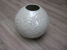 HOMEBASE BEIGE BULB SHAPED VASE - NEW WITH TAGS ON BASE