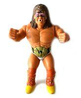 "Ultimate Warrior Vintage WWF Squirt Gun 8"" Action Figure 1990 Wrestling WWE"