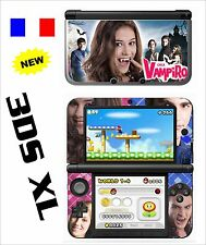 SKIN STICKER AUTOCOLLANT DECO POUR NINTENDO 3DS XL - 3DSXL REF 202 CHICA VAMPIRO