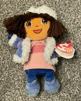 Dora The Explorer Russian Costume TY Beanie Plush Toy With Tag. Rare.