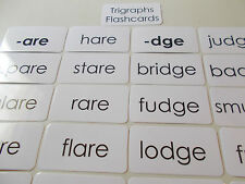 95 Trigraph Word Flashcards. Ela, Spelling, Reading, Speech Cards.