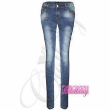 Unbranded Plus Size Stonewashed Jeans for Women