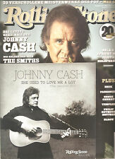"""ROLLING STONE """"März 2014"""" + Johnny Cash """"She Used To Love Me..."""" 7 Inch Vinyl"""
