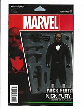 NICK FURY # 1 (CHRISTOPHER ACTION FIGURE VARIANT, June 2017), NM