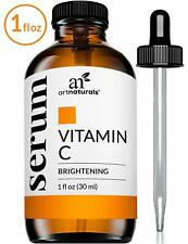 ArtNaturals Anti-Aging Vitamin C Serum 1 Fl Oz / 30ml Hyaluronic Acid and Vit E