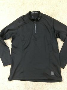 Nike Pro Hyperwarm XL Fitted Men's Top Baselayer Under Thermal Running Armour