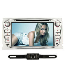 Kamera+Autoradio DVD GPS Navigation RDS Radio für Ford Focus Mondeo Galaxy S-max