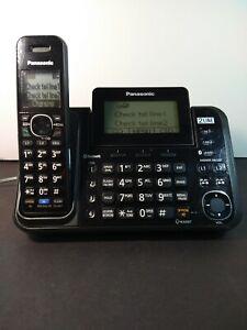 Panasonic KX-TG9541B Cordless 2-Line Phone 1 Handset DECT 6.0 Expandable
