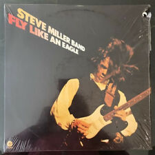 "STEVE MILLER BAND ""FLY LIKE AN EAGLE"" 1976 PROMO IN SHRINK! VINYL LP"