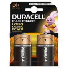Pack 2 Pilas D Original DURACELL LR20 / MN1300 de 1,5V Alcalina Blister b96
