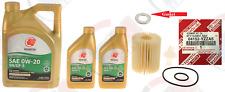 GENUINE Oil Filter 04152-YZZA5 + 7QTS. IDEMITSU 0w-20 Oil for Toyota Lexus