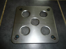 Steel Fabricated Dry Sump Oil Tank Base Mount Weld In Plate Rally Race