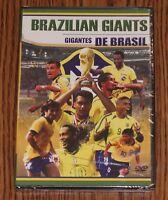 Brazilian Giants Gigantes De Brasil Soccer DVD Sport Brand New