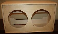 rawcabs DOVE TAIL JOINT 2x12 empty rear load open back pine speaker cabinet