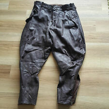 Wehrmacht Lederhose Motorradhose Pilotenhose WK2