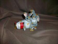 Fitz & Floyd Charming Tails Figurine Honey Bunnies (No Box)