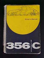 Porsche 356 Owners Manual_C_1963_Oem