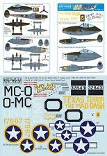 KITS WORLD DECALS 1/32 P-38F/J Lightning 94th FS 1st FG 79th FS 20th FG (USAAF)
