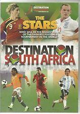 DESTINATION SOUTH AFRICA 2010 THE STARS DVD - FOOTBALL -  MESSI, KAKA & MORE