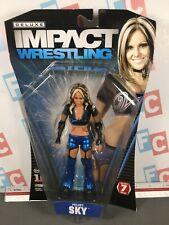 TNA Impact Jakks Wrestling Deluxe Series 7 Velvet Sky Figure WWE ROH