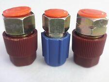 03 A/C Charging Ports 7/16L 3/8H 7/16H  Retrofits R12 to R134a w/3 free caps