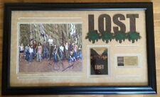 LOST Cast Bild im schwarzer Rahmen orginalen Unterschriften Staffel 1 85x52cm