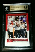 BGS 9.5 POP 3 PATRICK MAHOMES II RC SSP RED ROOKIE SUB 10 2017 Panini Score #403