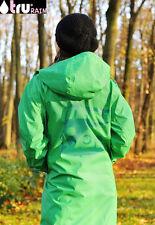 TRU RAIN  ~ S grün ~  Friesennerz ~ Raincoat ~ Regenmantel ~ Damen ~ Regenjacke