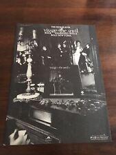 1982 Vintage 8X11 Promo Print Ad For Visage-The Anvil New Album Steve Strange