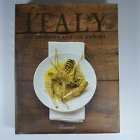 ITALY -  The Country and its Cuisine - Large Hardcover 2009 Used Good