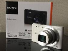 SONY Cyber-Shot DSC-WX350 White Digital Camera 20x Optical Zoom EMS w/ Tracking
