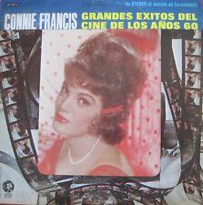 CONNIE FRANCIS-MGM-GRANDES EXITOS DEL CINE DE LOS ANOS 60-LATIN PROMO-EX COND!