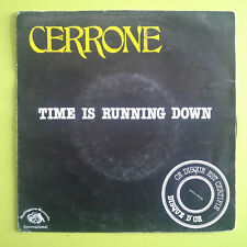 Cerrone ‎– Time Is Running Down Label: Malligator ‎– ZB 8606 Format: Vinyl, 7""