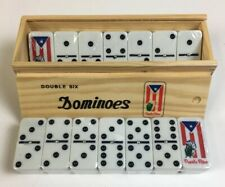 Dominoes Jumbo With Puerto Rico Flag Design--Bandera/Coqui