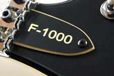 TRUSS ROD COVER name plate KRAMER F-1000 for KRAMER GUITAR